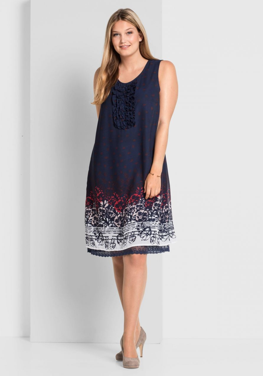 6fbcb4306b55 sheego Style Šifónové šaty sheego Style značky SHEEGO STYLE - Lovely.sk