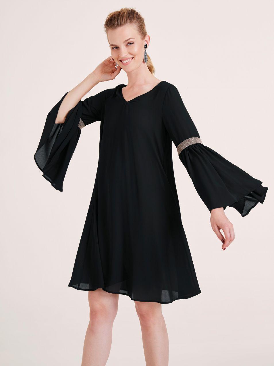 heine TIMELESS Koktejlové šaty s aplikáciou z nitov heine značky ... 0ad1c8c92fb