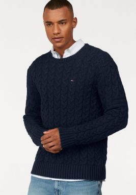 TOMMY JEANS Pletený pulóver »TJM CABLE SWEATER« Tommy jeans