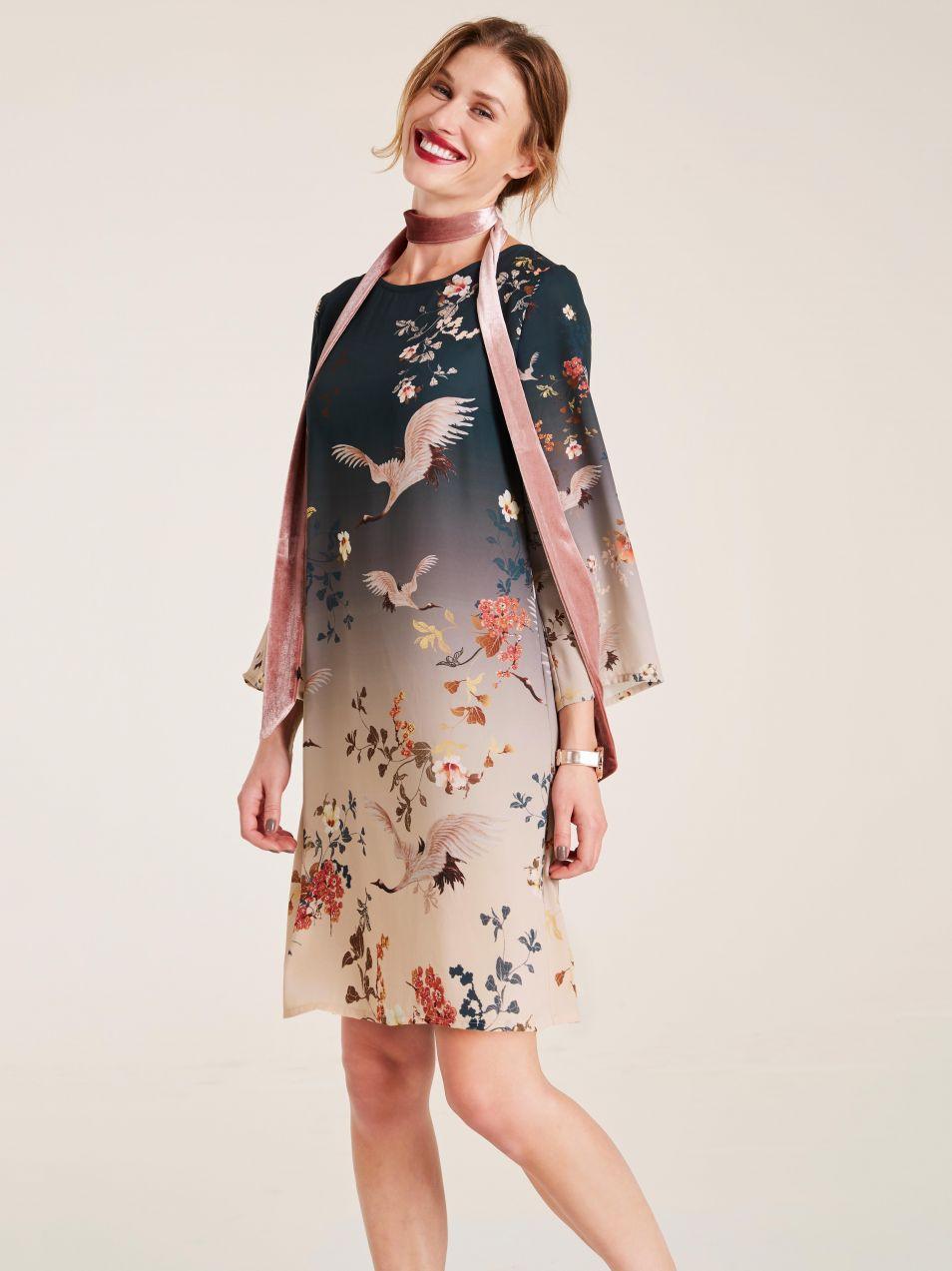 heine STYLE potlačené šaty s vhodnou spodničkou heine značky HEINE ... 9ed2a24f38