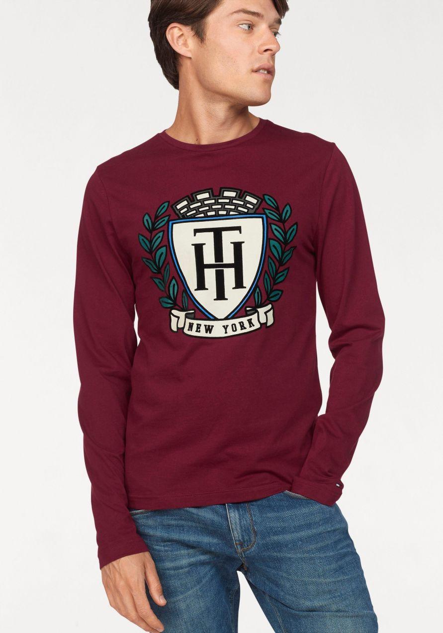 Tommy Hilfiger Tričko s dlhým rukávom »Crest« Tommy Hilfiger značky Tommy  Hilfiger - Lovely.sk e76e3d4e00d