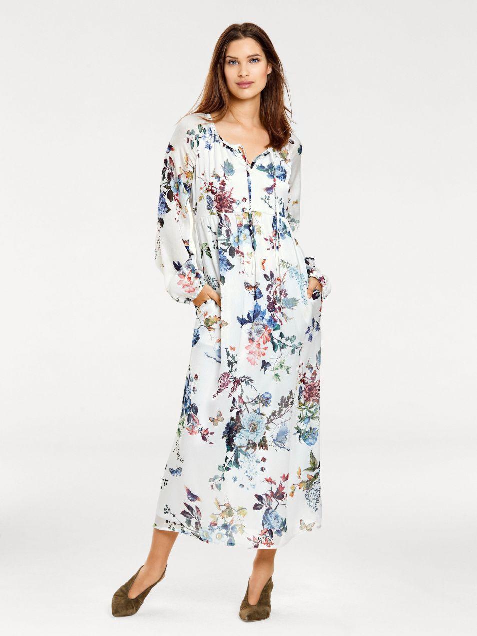 heine CASUAL Vzorkované šaty s kvetinovým vzorom heine značky HEINE ... cf1291663f