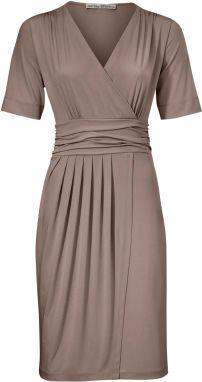 f1c37a01906d heine TIMELESS Džersejové šaty zavinovacom vzhľade heine