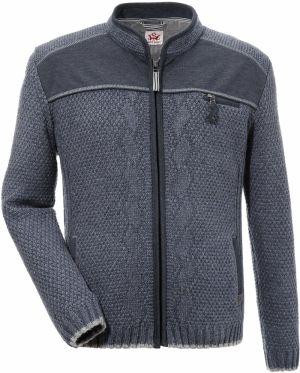Jednoduchý predĺžený pánsky sveter granátovej farby - Lovely.sk ea81cbeb02