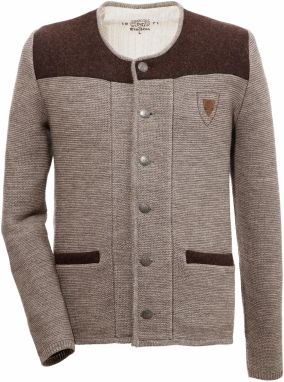 OS-Trachten Krojový pletený sveter pánsky s razením erbom DEFAULT INVALID e14133ba65