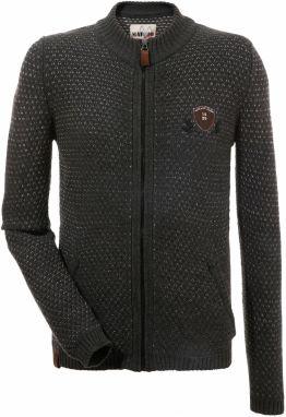 Marjo Krojový pletený sveter pánske s motívom jeleňa na chrbte  DEFAULT INVALID e106eb77c0