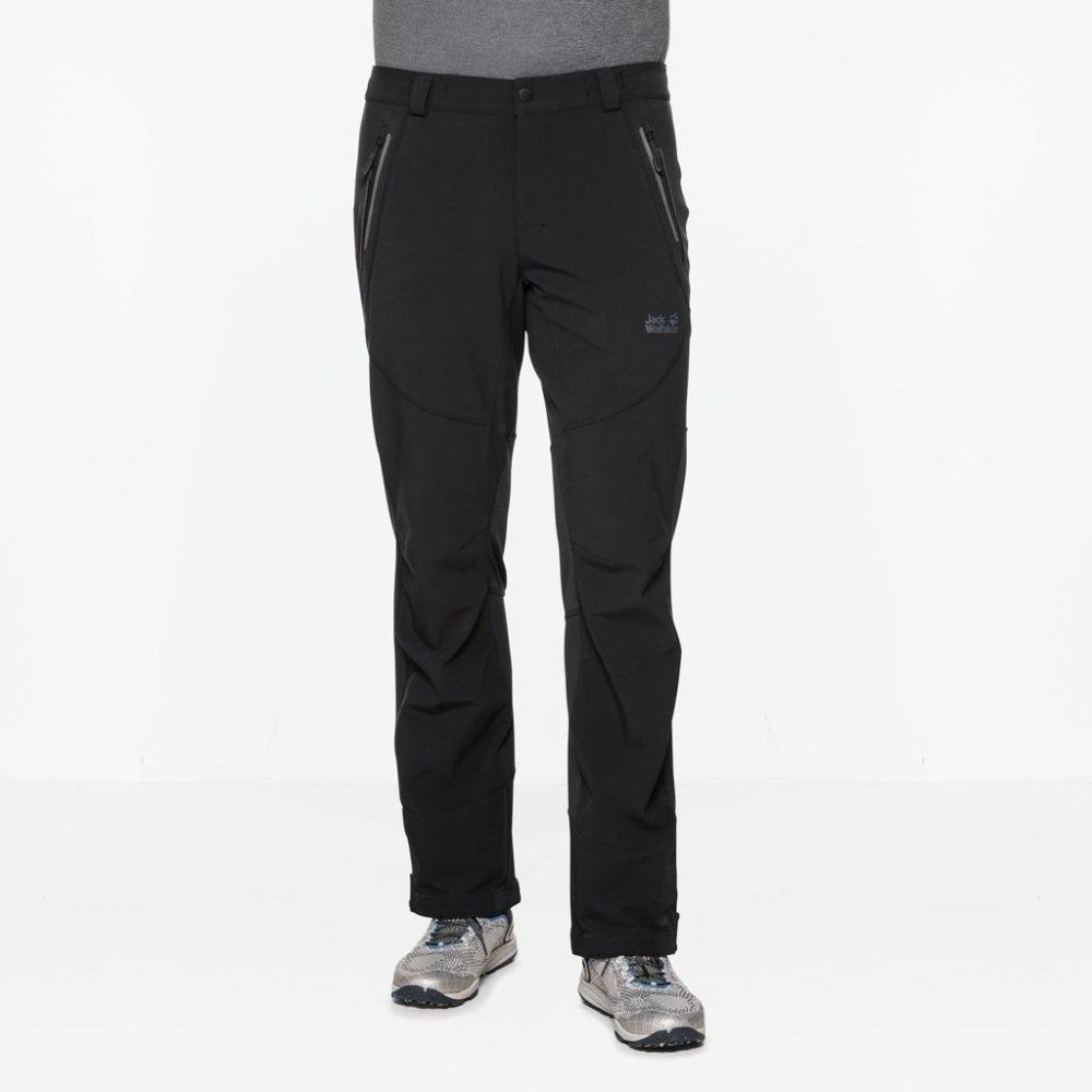 Jack Wolfskin Softshell nohavice »GRAVITY SLOPE PANTS MEN« Jack Wolfskin a886014c94a