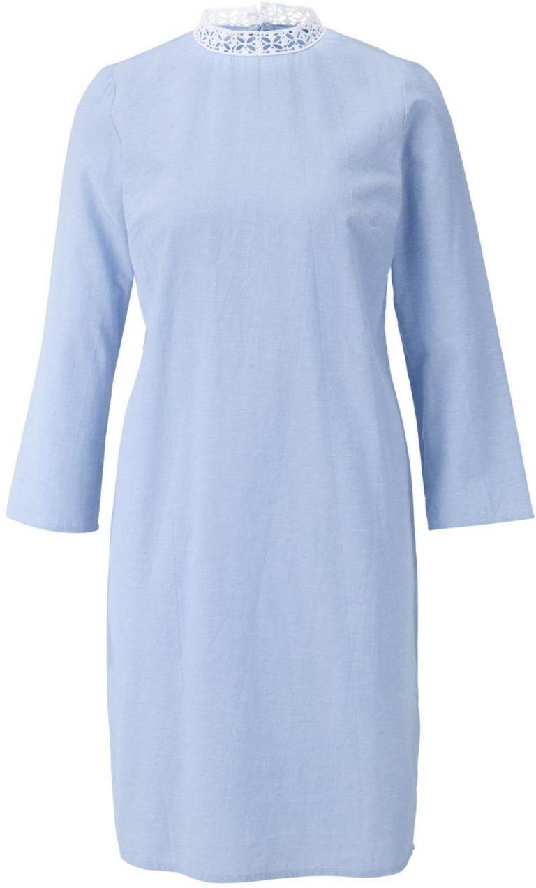 c928af7892fc heine CASUAL Ľanové šaty s čipkovým golierom heine značky HEINE ...