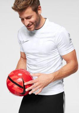 18187a2e080e Biele pánske tričko s čiernou potlačou Nike značky Nike - Lovely.sk