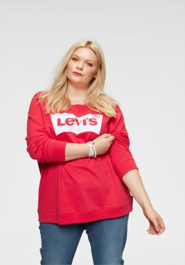 Levi's® Plus Mikina »Plus Relaxed Graphic Crew Batwing« Levis plus