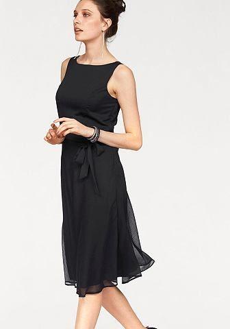017bc2ec8bc3 Bruno Banani Bruno Banani Šifónové šaty čierna - standardná veľkost 34(XS)  značky BRUNO BANANI - Lovely.sk