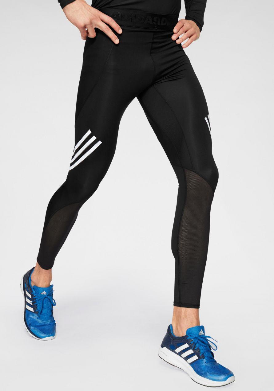 adidas Performance Športové legíny »ALPHASKIN SPORT LEVEL LONG TIGHT 3  STRIPES« adidas Performance 56c59dfa07a