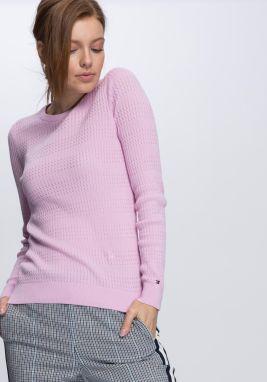 7fe2e53f73 Ružový dámsky sveter Tommy Hilfiger značky Tommy Hilfiger - Lovely.sk