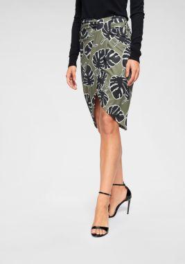 c26548cfe983 Kaki tylová sukňa ONLY Shell značky ONLY - Lovely.sk