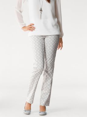 2b93f2ff837b heine TIMELESS Vzorované nohavice s kvetinovým dizajnom heine značky ...