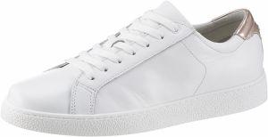 316617cb9066 Biele tenisky na platforme s ozdobnými detailmi Tamaris Milania ...