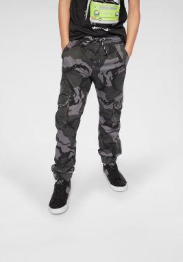 a0d01493b03b Sivé chlapčenské nohavice s vreckami North Pole Kids značky North ...