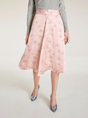 65f4e9032ede heine TIMELESS potlačená sukňa s dizajnom vtáka heine