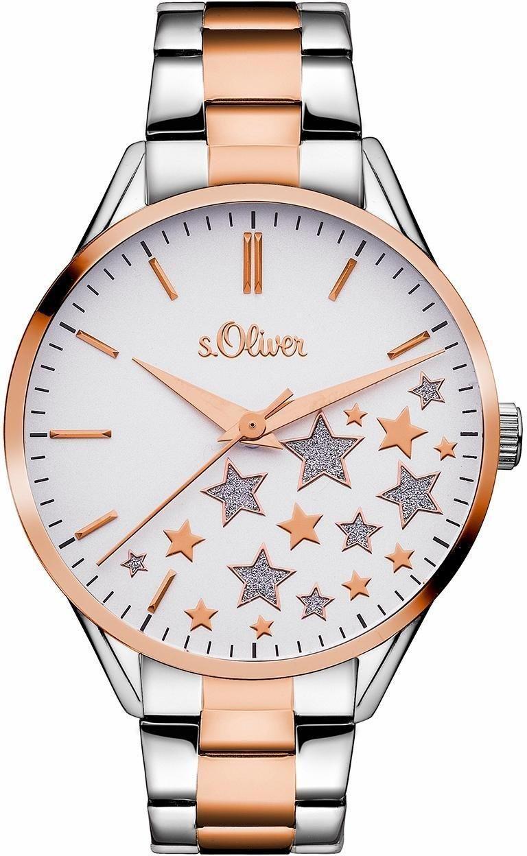 "a0c999998 s.Oliver RED LABEL Kremenné hodinky ""SO-3437-MQ"" s.Oliver RED LABEL ..."