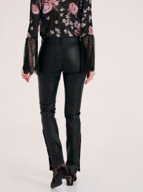 d25ce2184027 heine STYLE Koženkové nohavice s ozdobnými gombíkmi heine