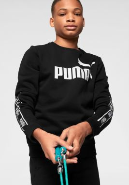 PUMA Mikina »AMPLIFIED CREW FLEECE BOYS« Puma