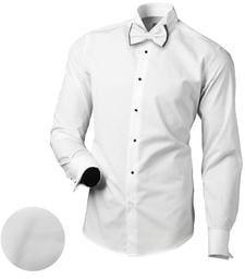 193bbecf9ee7 Jednoduchá biela košeľa MECH 2122 - Lovely.sk