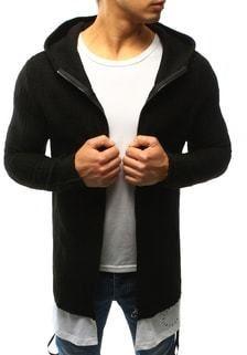 1ce626f82819 Trendy čierny sveter s podšitím - Lovely.sk