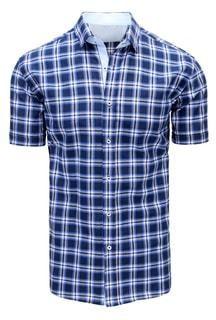 700e8d70f7b4 Granátovo-nebeská károvaná košeľa - Lovely.sk