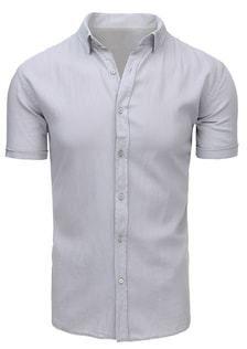 132006761441 Trendy granátová džínsová košeľa pre pánov - Lovely.sk