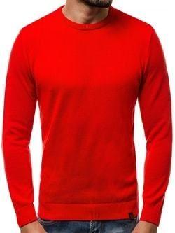 Pánsky červený sveter OZONEE B 2433 - Lovely.sk 7e7298fd13