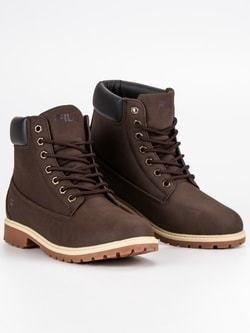 Kožené pánske topánky svetlo-hnedé - Lovely.sk d4ab1609f88