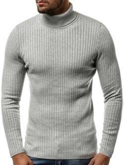 Pohodlný antracitový sveter na zips - Lovely.sk 25b7bf4a38