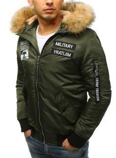 Bomber zimná bunda zelená - Lovely.sk 29685da2d63