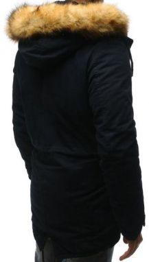 abc64bda0c Originálna zimná bunda v granátovej farbe - Lovely.sk
