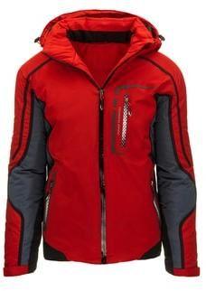 Športová pánska červená zimná bunda - Lovely.sk 8ab78ac6c3b
