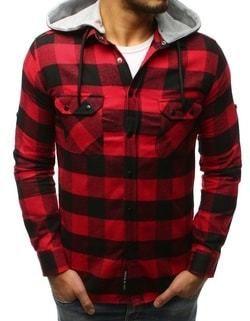 eaff619f42b4 Čierna bavlnená pánska košeľa Essential Life - Lovely.sk
