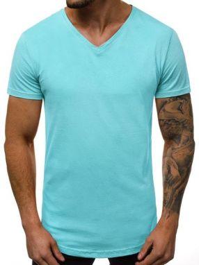 78a0f9c4ec03 Štýlové zelené tričko s vreckom Athletic 467 - Lovely.sk