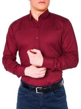 d25c149b3680 Červená kockovaná košeľa NORTHIST 2502 - Lovely.sk