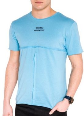 eceb3c2b45c8 Modré tričko ATHLETIC New York - Lovely.sk