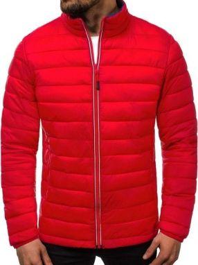 85422da4d Štýlová zimná bunda OZONEE JB/1069 červená - Lovely.sk