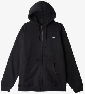 OBEY Obey Mikina The Creeper Black Zip Hood