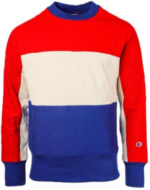 Champion Mikina Quilted Panel Crewneck