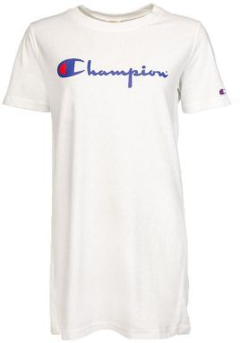 Champion Reverse Weave Script Logo Long Top White