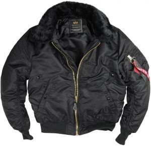 Alpha Industries B15 Bomber Bunda Black