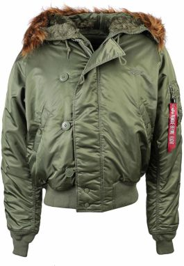 Alpha Industries N2B Bomber Bunda Sage Green