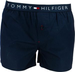 Tommy Hilfiger Cotton Woven Boxer Icon Navy Blazer