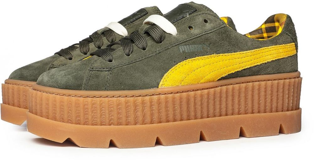 hot sale online 727e6 5ff1d FENTY Puma by Rihanna Puma x FENTY by Rihanna Suede Cleated Creeper Rosin