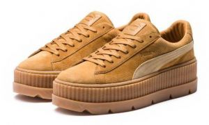 FENTY Puma by Rihanna Puma x FENTY by Rihanna Suede Cleated Creeper Golden Brown