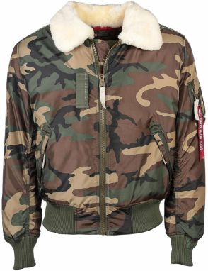 Alpha Industries Injector III Shearling Bunda Camo