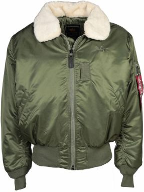 Alpha Industries B15 Bomber Bunda Sage Green